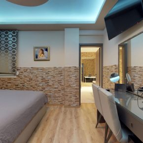 Superior Διαμέρισμα με Σάουνα και Μπανιέρα-Υδρομασάζ 02 (Medium)